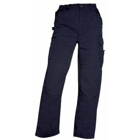 Pentalon de travail multi-poches bleu marine XXXXL