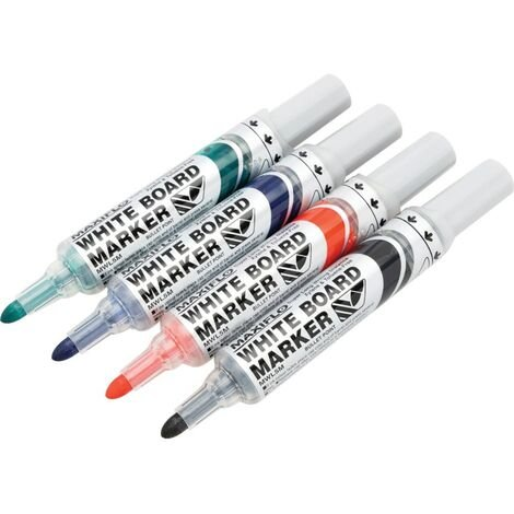 Pentel Drywipe Eraser Complete With 4 Markers