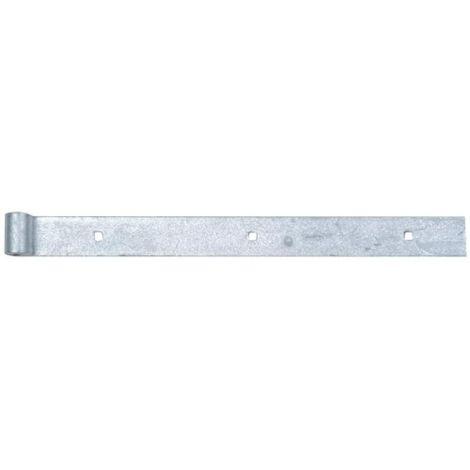 Penture droite acier galvanisé à chaud longueur 400 mm