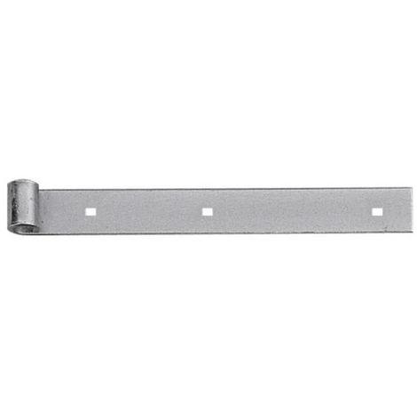 Penture droite acier zingué longueur 800 mm