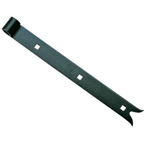 Penture queue de carpe - Diamètre œil : 16 mm - Section : 40 x 5 mm - Longueur : 800 mm - ITAR