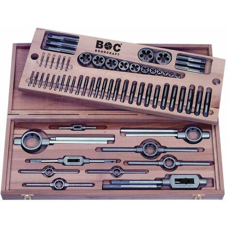 perçage Craft 60001450062schneidsatz hélicoïdal HSSG/HSS M3de filetage M2462pièces dans un coffret en bois