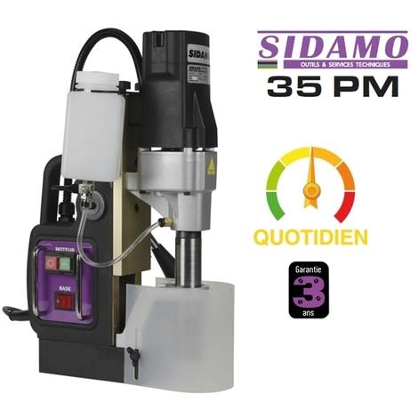 Perceuse à base magnétique 35 PM Sidamo