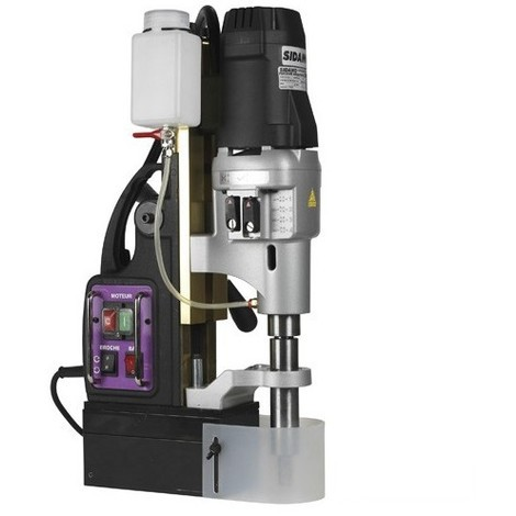 Perceuse à base magnétique 75 PM B - 230V 1800W - 20502048 - Sidamo - -