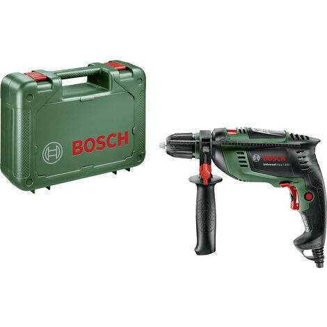 Perceuse à percussion Bosch Home and Garden UniversalImpact 800 0603131100 1 vitesse-800 W + mallette 1 pc(s)