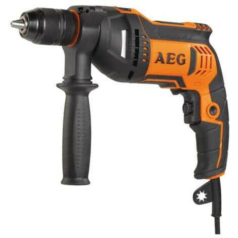 Perceuse à percussion électrique AEG 750W 1 vitesse SBE 750 RE
