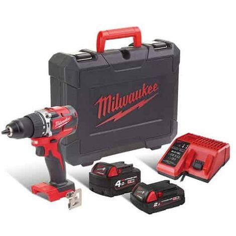 MILWAUKEE Perceuse visseuse percu 18V 4Ah M18 CBLPD-422C - 4933472116
