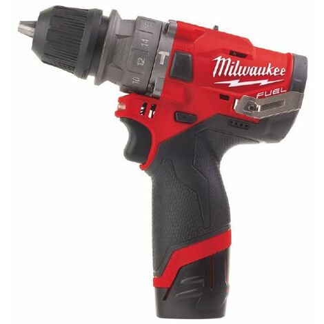 Perceuse à percussion mandrin amovible 12V 2.0Ah M12 FPDXKIT-202X MILWAUKEE - 4933464138