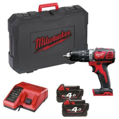 Perceuse à percussion MILWAUKEE M18 BPD-402C + 2 batteries + 1 chargeur - 4933443520
