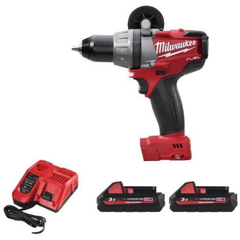 Perceuse à percussion MILWAUKEE M18 Fuel CDD-32C - 2 Batteries 3,0Ah - 1 Chargeur 4933431200