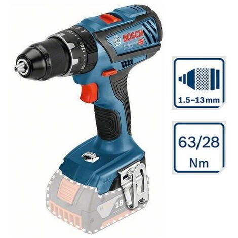 Perceuse à percussion sans fil Bosch GSB 18V-28 63/28Nm 1.5-13mm sans batterie 06019H4000