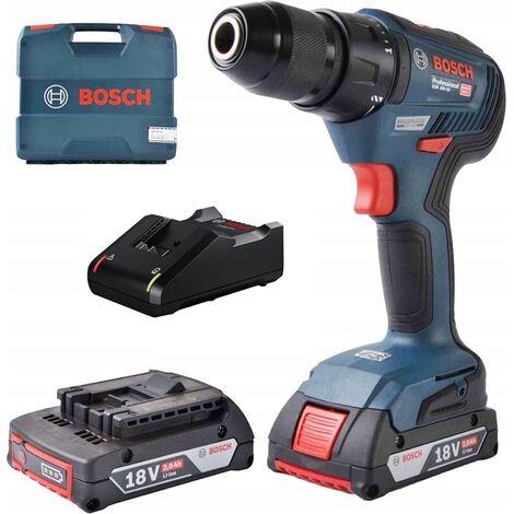 perceuse BOSCH 18V 50/24 Nm 2x2,0Ah BRUSHLESS GSR 18 V-50 06019H5000