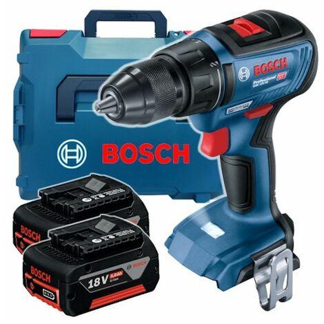 perceuse BOSCH 18V 50/24 Nm 2x5,0Ah BRUSHLESS GSR 18 V-50 06019H5001