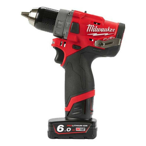 Perceuse percussion MILWAUKEE FUEL M12 FPD-602X - 2 batterie 12V 6.0 Ah - 1 chargeur C12C 4933459806