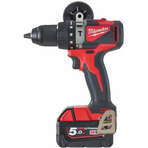 PERCEUSE PERCUSSION MILWAUKEE M18 BLPD2-502X BRUSHLESS 18V 5,0AH 85 NM M18 BLPD2-502X - 4933464517 - -