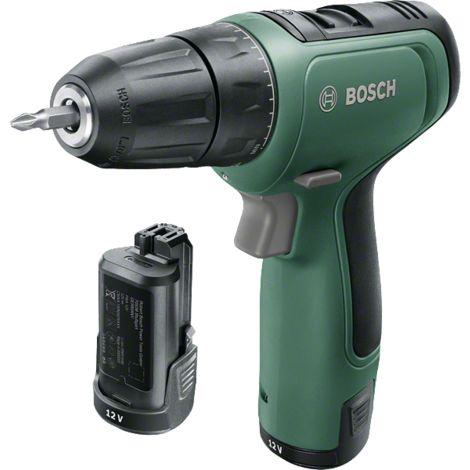 Perceuse sans fil Bosch - EasyDrill 1200 (Livrée avec deux batteries 12V-1,5Ah)