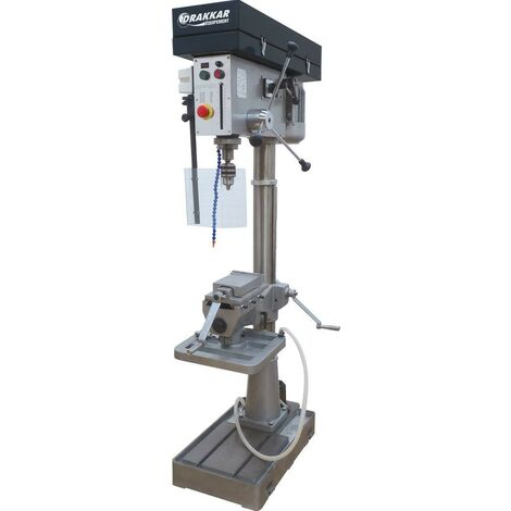 Perceuse sensitive industrielle 400 Volts AVEC ETAU modèle industrie. NOIRE - S13082