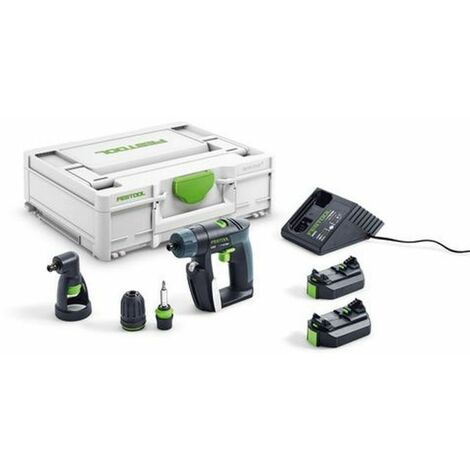 Perceuse visseuse 10.8V CXS LI 2.6-Set 10mm FESTOOL + 2 batteries - 576093