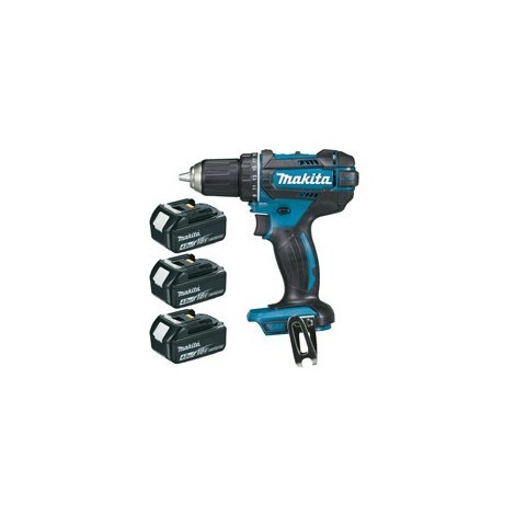 Perceuse visseuse 18 Volts + 3 batteries 4Ah MAKITA