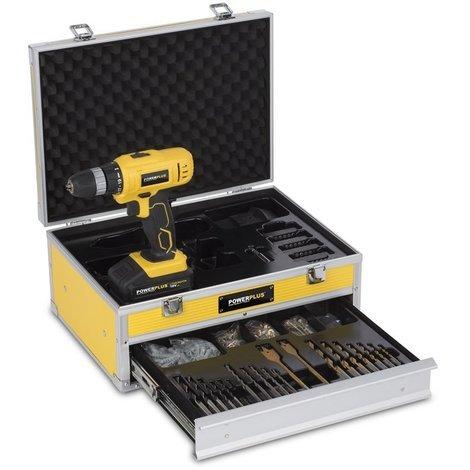 Perceuse/Visseuse 18 Volts Li-Ion 2 Batteries 1300 mAh 275 Accessoires