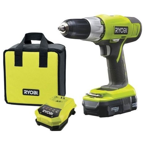 Perceuse Visseuse 18v ONE+ LITHIUM - 2 vitesses - RYOBI R18DDP-L13S