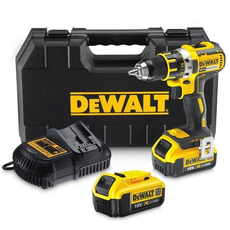 Perceuse Visseuse 18V XR 2 batteries 4,0Ah Li-Ion DeWALT