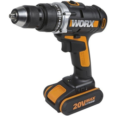 Perceuse visseuse 20 V max Li-on Worx