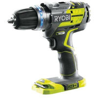 Perceuse-visseuse à percussion brushless RYOBI 18V OnePlus - sans batterie ni chargeur R18PDBL-0