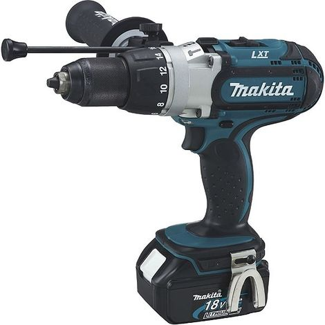 Perceuse Visseuse à Percussion MAKITA 18V Li-Ion 3AhX2 Ø13 MM - DHP451RFJ