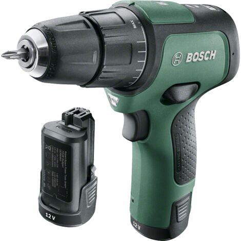Perceuse-Visseuse à percussion sans fil Bosch - Easyimpact 12 (2 Batteries, Système 12 V, livrée dans une poche)