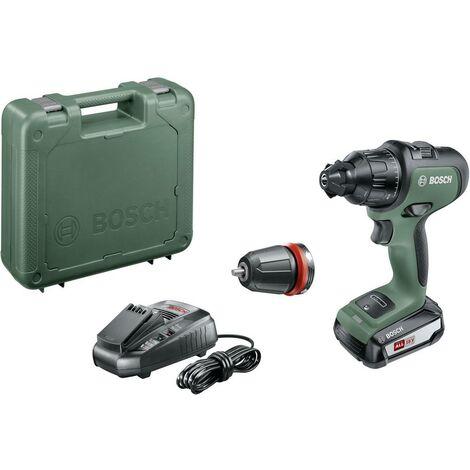 Perceuse-visseuse à percussion sans fil Bosch Home and Garden AdvancedImpact 18 06039B5100 18 V 2.5 Ah Li-Ion + batterie, + mallette 1 pc(s)