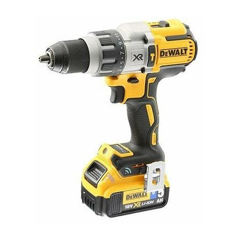 Perceuse visseuse à percussion XRP DEWALT + 2 batteries 18V 5.0Ah + chargeur + coffret TSTAK - DCD997P2B