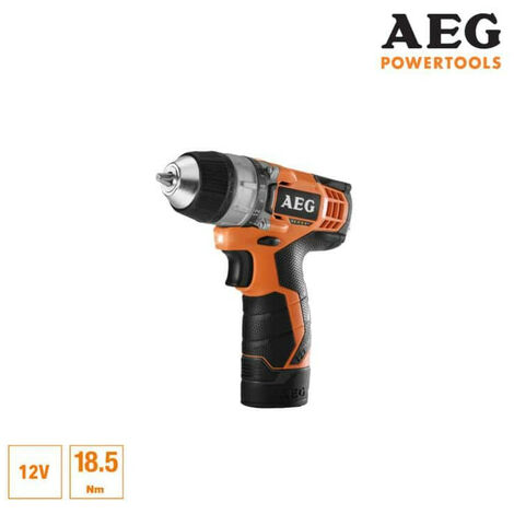 Perceuse visseuse AEG 12V Li-ion - 1 batterie 1.5Ah Pro-Lithium - 1 chargeur 30min - BS12C-151B