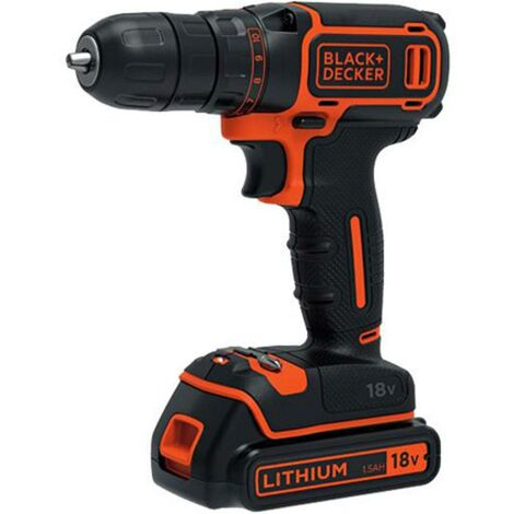 Perceuse-visseuse Black + Decker 'BDCDD186KB' 18V