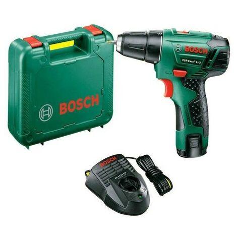 Perceuse Visseuse Bosch PSR Easy Li-2 (10,8 V) avec batterie 1.5 Ah au lithium 2 vitesses Mallette Bosch