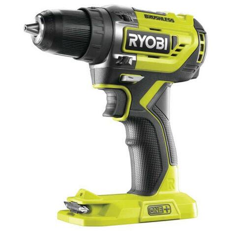 Perceuse-visseuse brushless E-torque RYOBI 18V One Plus - sans batterie ni chargeur R18DD5-0