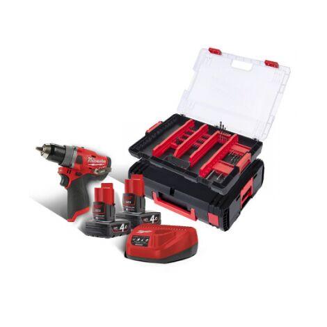 Perceuse visseuse compacte DEWALT 18V 5.0Ah XR + 2 batteries, chargeur en coffret - DCD791P2