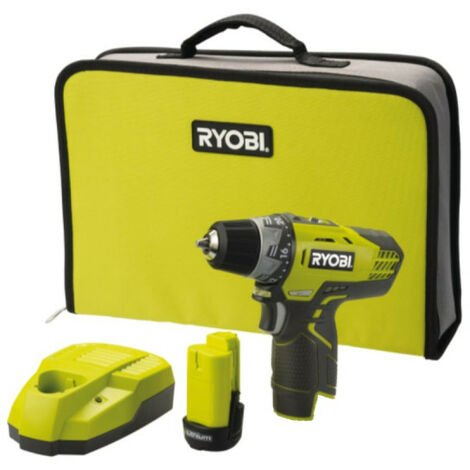 Perceuse-visseuse compacte RYOBI 12V Lithium-ion -1 batterie 1.3 Ah RCD12011L