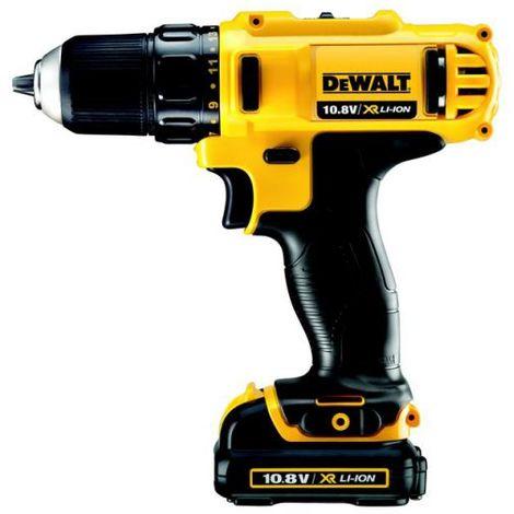 Perceuse-visseuse DEWALT 10,8V - 2 batteries de 1,3 Ah - DCD710C2-QW