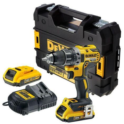 Perceuse visseuse DEWALT 18V 2.Ah - 2 batteries, chargeur, coffret - DCD791D2