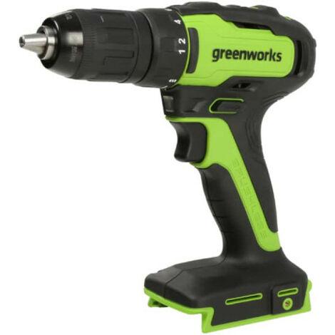 Perceuse visseuse GREENWORKS 24V Brushless - Sans batterie ni chargeur - GD24DD35