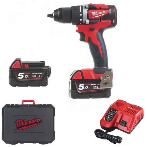 Perceuse visseuse M18CBLDD-502C MILWAUKEE - 4933464556