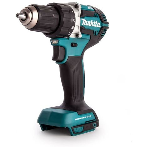 Perceuse visseuse MAKITA 18V Li-Ion Ø13 mm - Sans batterie, ni chargeur - DDF484Z