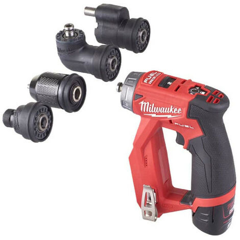 Perceuse visseuse MILWAUKEE M12 FUEL FPDXKIT-202X - 2 batteries 2.0 Ah - 1 chargeur 4933464979