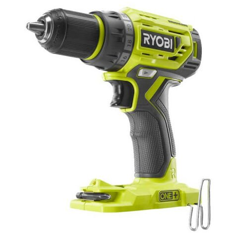 Perceuse Visseuse RYOBI 18V One Plus Brushless - Sans batterie ni chargeur - R18DD7-0
