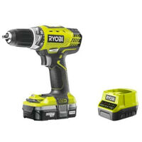 Perceuse-visseuse RYOBI 18V OnePlus - 1 batterie Lithium 1.3Ah - chargeur rapide RCD18-113S