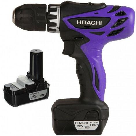 Perceuse Visseuse sans fil 12V peak 2 batt 1,5Ah DS10DFL Limited Edition HITACHI