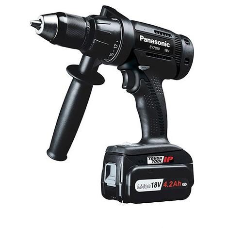 Perceuse Visseuse sans fil à percussion PANASONIC 18 V (sans batterie, ni chargeur) - EY7950X - Alsafix - -