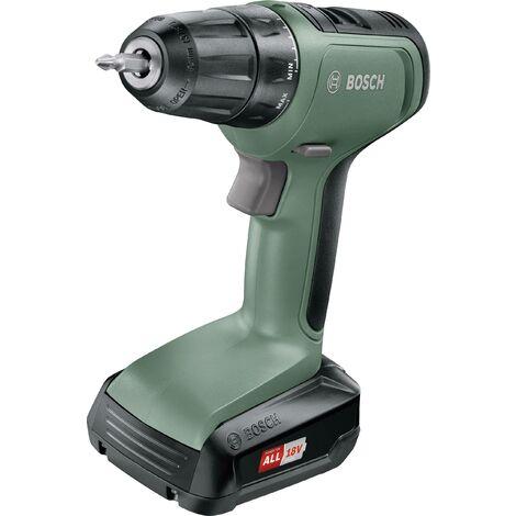 Perceuse-visseuse sans fil Bosch 18 V - UniversalDrill 18 (Livrée avec une batterie 18V-1,5Ah, chargeur, 2 embouts de vissage et coffret)