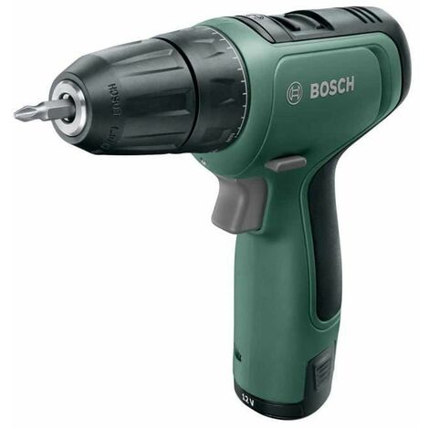 Perceuse Visseuse sans fil Bosch - EasyDrill 1200 Livree avec 1 batterie 12V-1,5 Ah